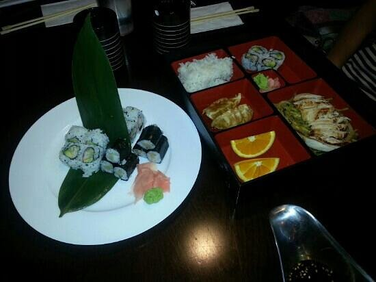 Sakura Sushi: Not a special order just their standard fare.