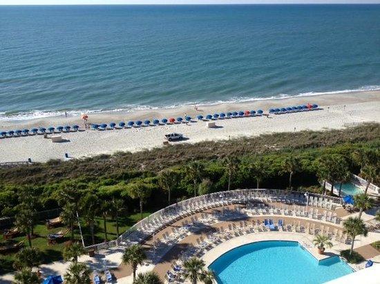 Marriott Resort at Grande Dunes Myrtle Beach: View From Our Room - Whoohoo!!