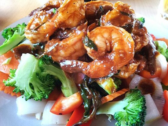 thaidal zone: Spicy Sweet & Sour King Prawn ^_^