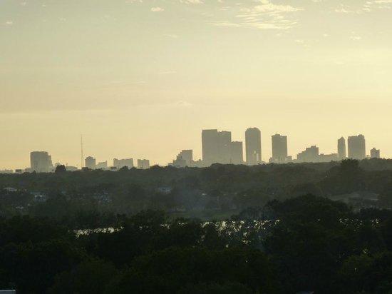 Seminole Hard Rock Hotel Tampa: Zimmeraussicht: Stark gezoomt