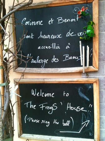 The Frogs' House: Corinne and Benoits personal message board