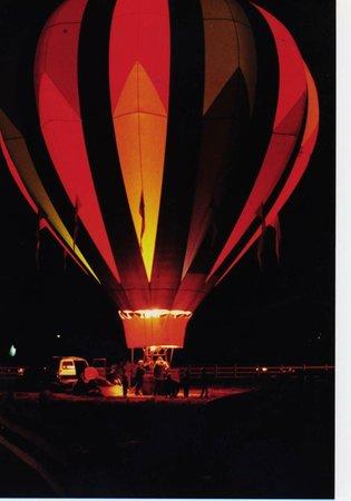 Corrales, NM: Balloon Glow
