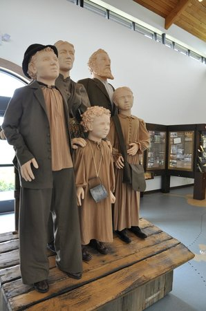 Belgium, WI: These statues greet you as you enter the exhibit hall
