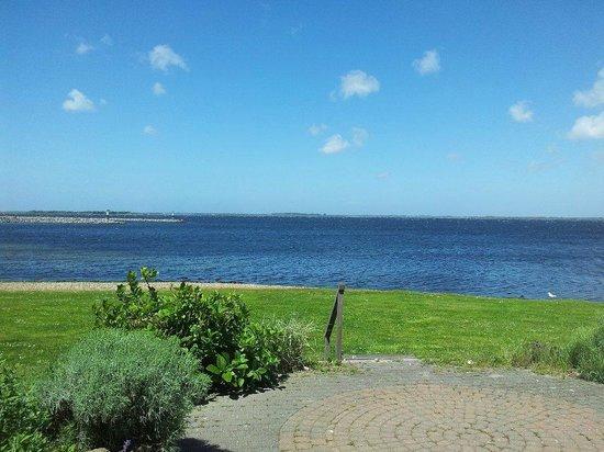 Landal Port Greve: vue de la terrasse de l'appartement
