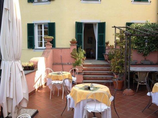 L'Antico Borgo: terrazza con spettacolare veduta