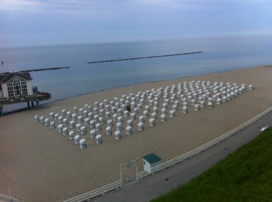 Hotel Seeschloss Sellin: Strandkörbe