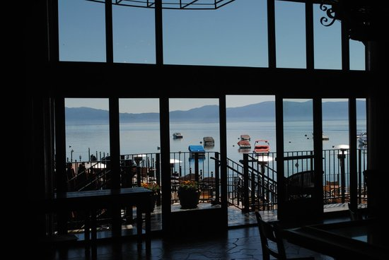 West Shore Cafe: View from inside the restaurant