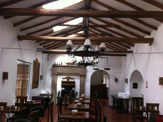 Hotel Rumi Punku: Dining room/Lounge