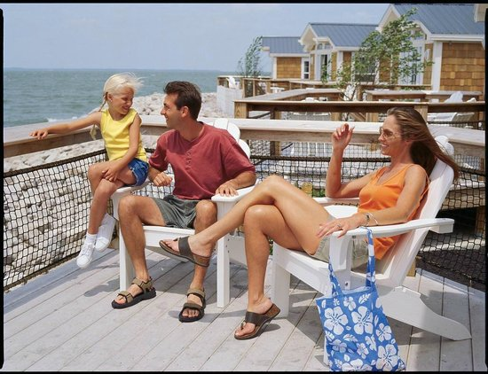 Cedar Point's Lighthouse Point: Cottage Porch