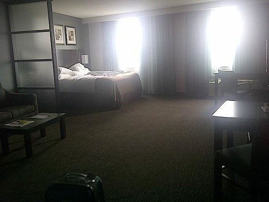 Holiday Inn Hotel & Suites Saskatoon Downtown: View of room - Facing the windows