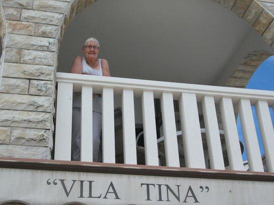 Hotel Vila Tina: Balcony