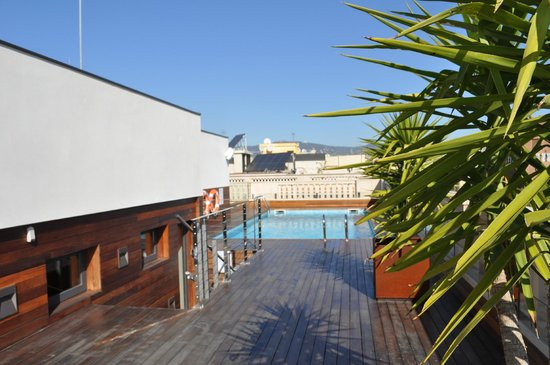 K+K Hotel Picasso: Roof Terrace