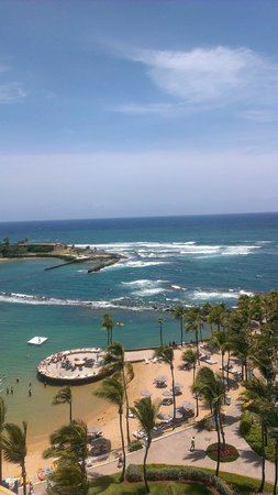 Caribe Hilton San Juan: View from the room