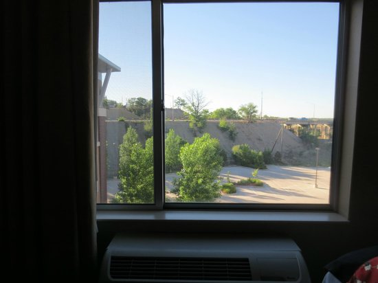 SpringHill Suites Pueblo Downtown: looking at the highway