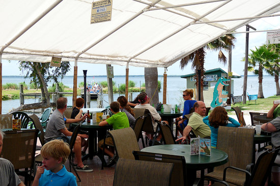 lazy gator bar at the black hammock the black hammock deck bar   picture of lazy gator bar oviedo      rh   tripadvisor