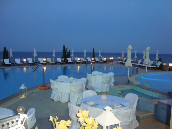 Regina Dell Acqua Resort: View from restaurant