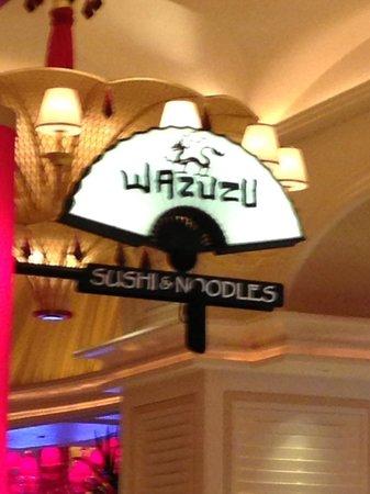 WAZUZU Sushi & Noodles Encore Las Vegas, YUMMY