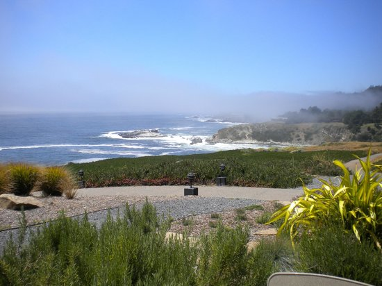 Alexander's at Timber Cove Inn: View from the Terrace Dining Area