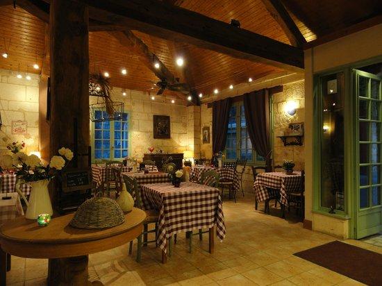 Brantome, Francia: salle du restaurant