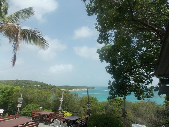 Pineapple Beach Club Antigua: view from the Outhouse