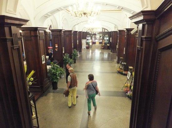 Astor House Hotel : Die Eingangshalle