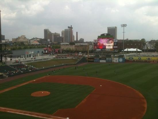 Regions Field : view from third base suites