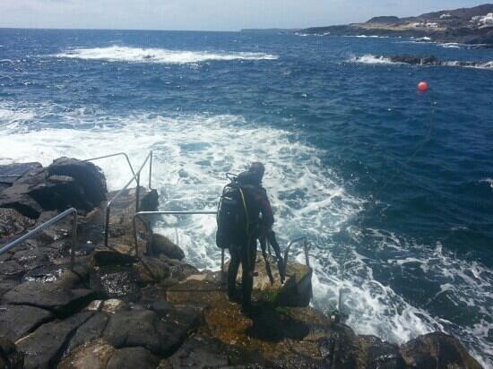 Windblue Diving: big blue sea in mala
