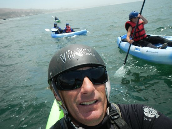 Avila Beach Paddlesports: kayaking with Vince