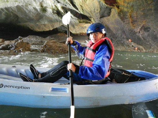 Avila Beach Paddlesports: Inside the cave