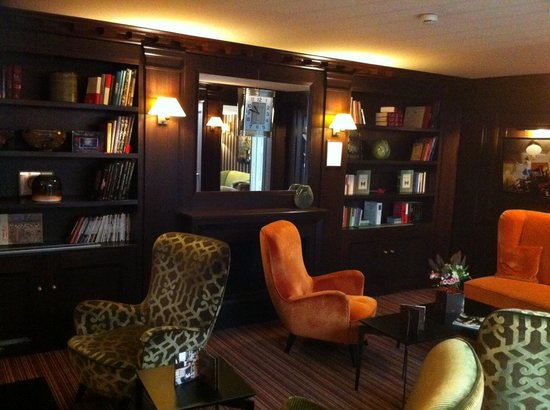 Hotel Le Mathurin : Library