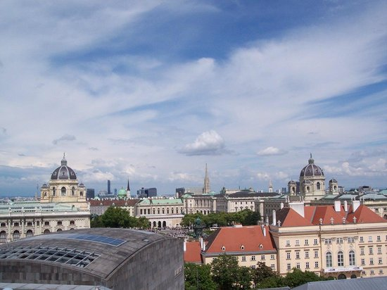 K+K Hotel Maria Theresia: View from Room 620