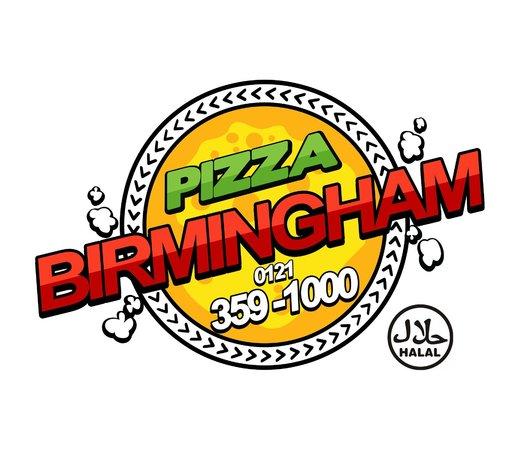 Pizza Birmingham Logo Halal
