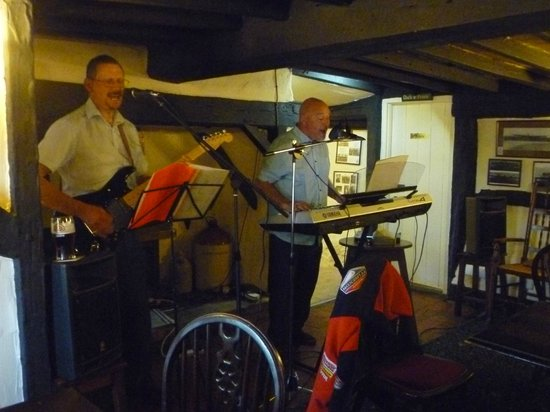 The Blue Bell Inn: You could hold a conversation while the band was playing.