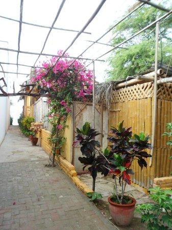 HUA Punta Sal Hotel Restaurante: entrada al hotel