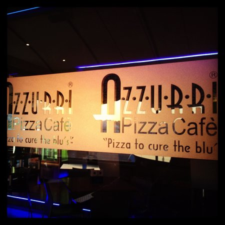 Azzurri Pizza Cafe: Logo sunset