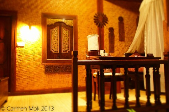 Puri Mas Boutique Resort & Spa: Outdoor lounge