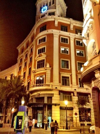 NH Collection Paseo del Prado: another night view