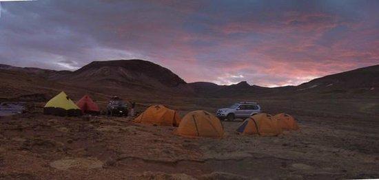 Carlos Zarate Adventures: Campamento Lloqueta en las Fuentes del Rio Amazonas