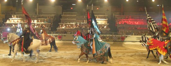 Medieval Times Buena Park: The pageantry
