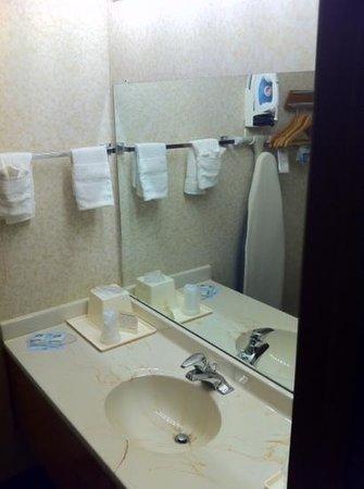Rodeway Inn: clean bathroom