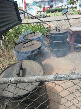 Chicken In A Barrel BBQ: Chicken in a Barrel barrels