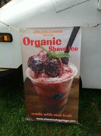 Shave Ice Tege Tege : Organic Shave Ice