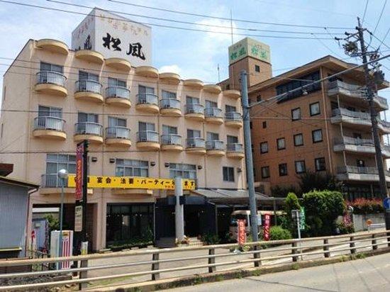 Business Hotel Matsukaze: ホテル外観西側