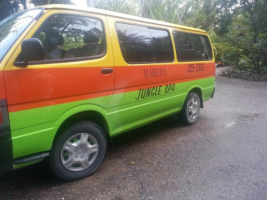 Maruba Resort Jungle Spa: Maruba Van