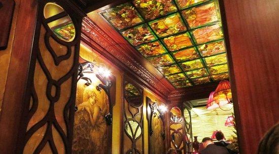 Rich decor inside - Picture of Le Grand Cafe Capucines, Paris ...