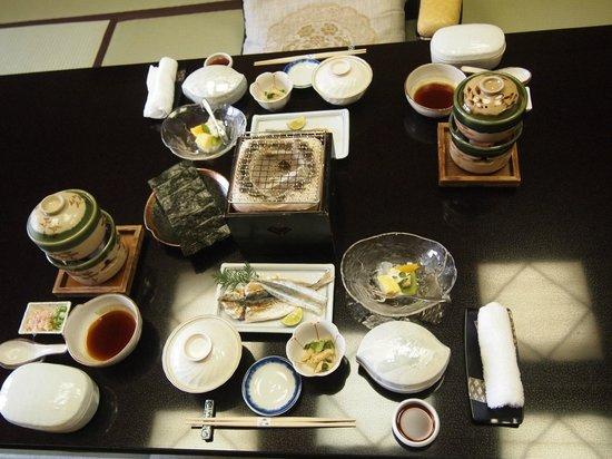 Arima Onsen Hotel Kinzan : 朝食