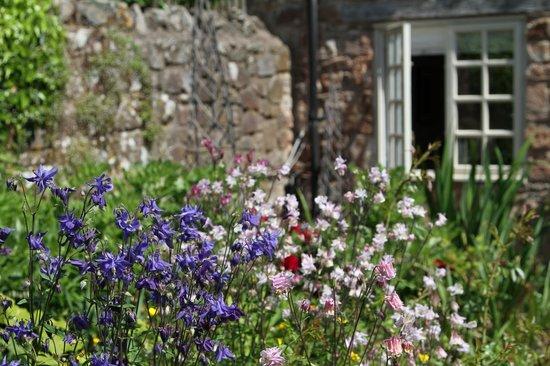 Tudor Farmhouse Hotel: Informal garden