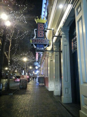 Photo of American Restaurant B.B. King's Blues Club at 152 2nd Ave N, Nashville, TN 37201, United States