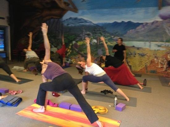 Griffins Hill Yoga Retreat : yoga in Halls Gap