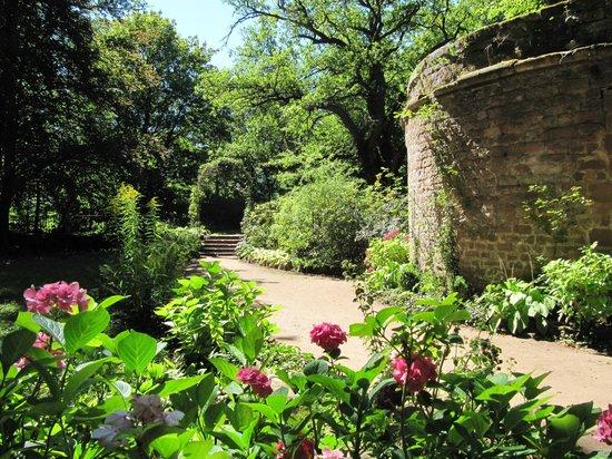 Burg Berwartstein Castle Garden